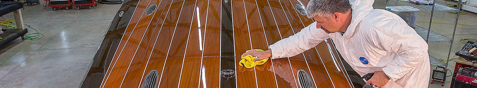 Coeur Customs can take care of your boat's exterior care and maintenance