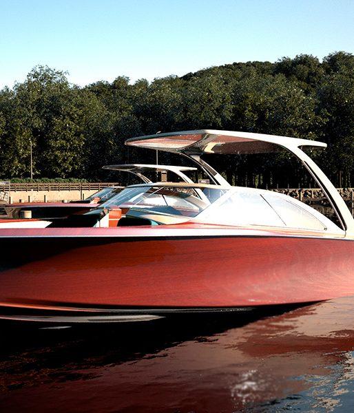 Coeur Customs Wood Boat - Step 2 - 3D Modeling