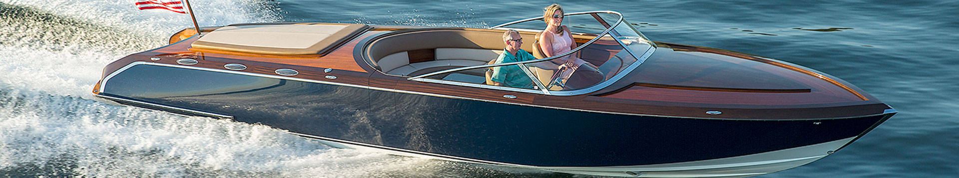 Coeur Customs, Pure 340, Custom Wood Boat